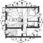 Разметка помещения по сторонам света для активации