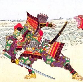 Самурай в доспехах