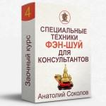 Заочный курс 4 «Специальные техники фэн-шуй для консультантов» от Анатолия Соколова